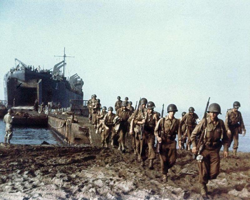 Liitlaste põhijõud maabusid Itaalias - operatsioon Avalanche