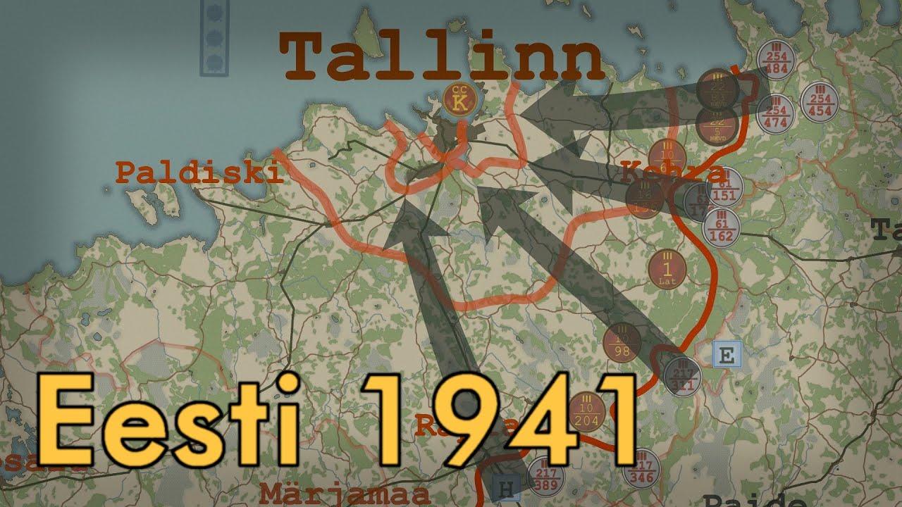 Teine maailmasõda Eestis: 1941