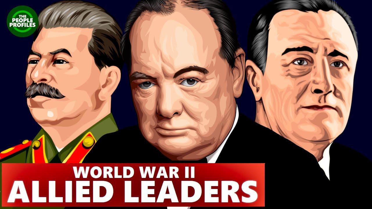 Liitlaste liidrid Teises maailmasõjas - Churchill, Stalin ja Roosevelt
