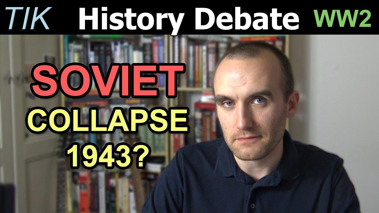 Kui lähedal oli Nõukogude Liit 1942 - 1943 kokkukukkumisele?