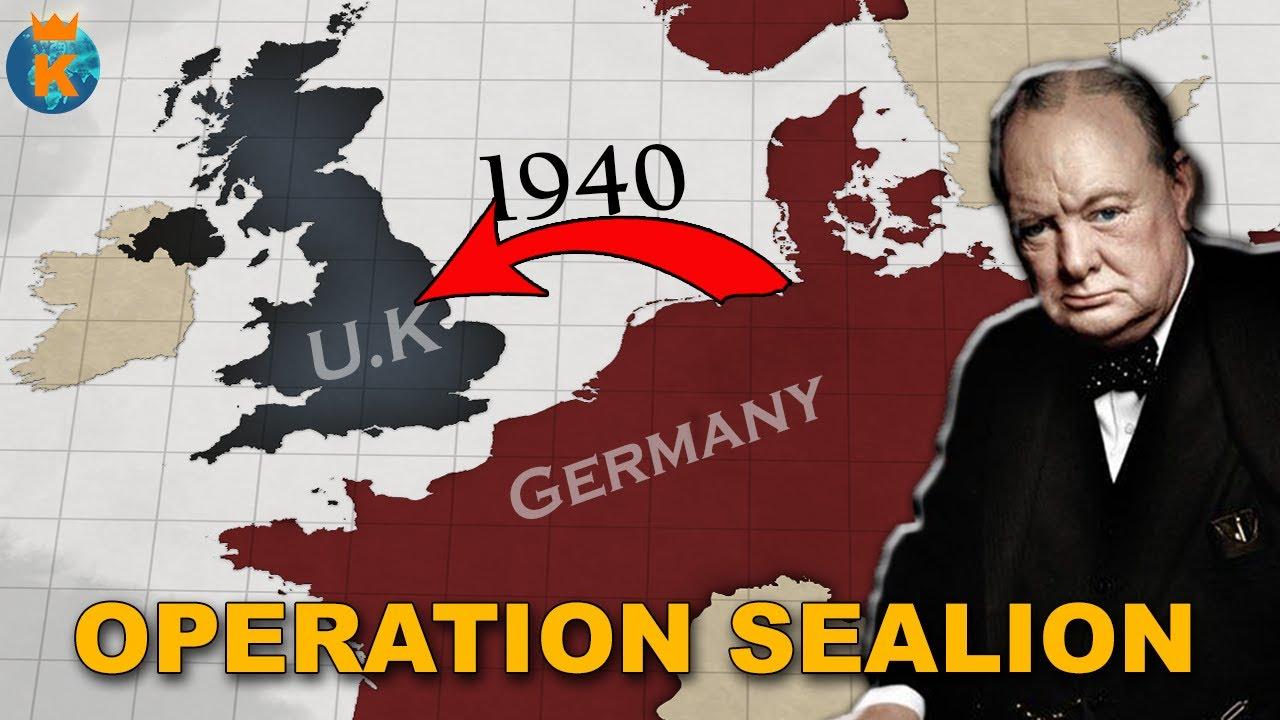 Kuidas täpsemalt plaanisid sakslased vallutada Inglismaa?