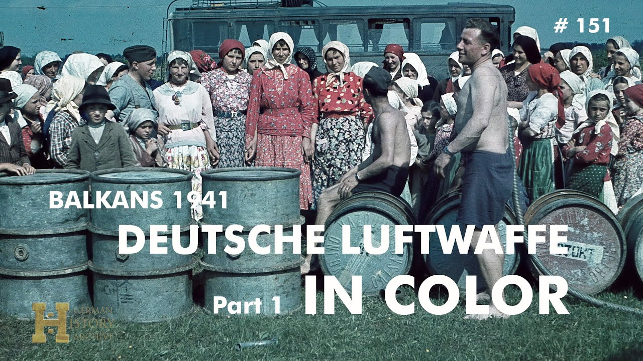 Saksa Luftwaffe 1941. aastal Balkanil, 1. osa