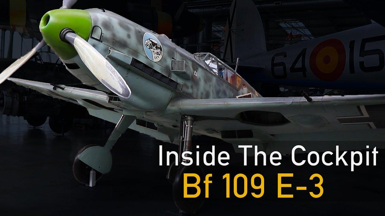 Messerschmitt Bf 109 E kokpit