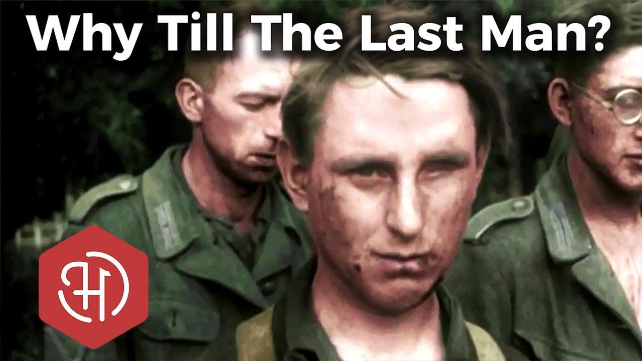 Miks sõdisid sakslased edasi Teises maailmasõjas 1944 - 1945?