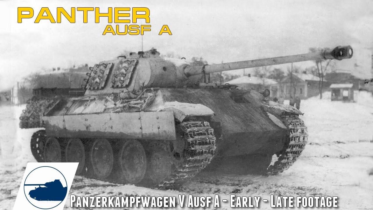 Kaadrid saksa tankist Panther