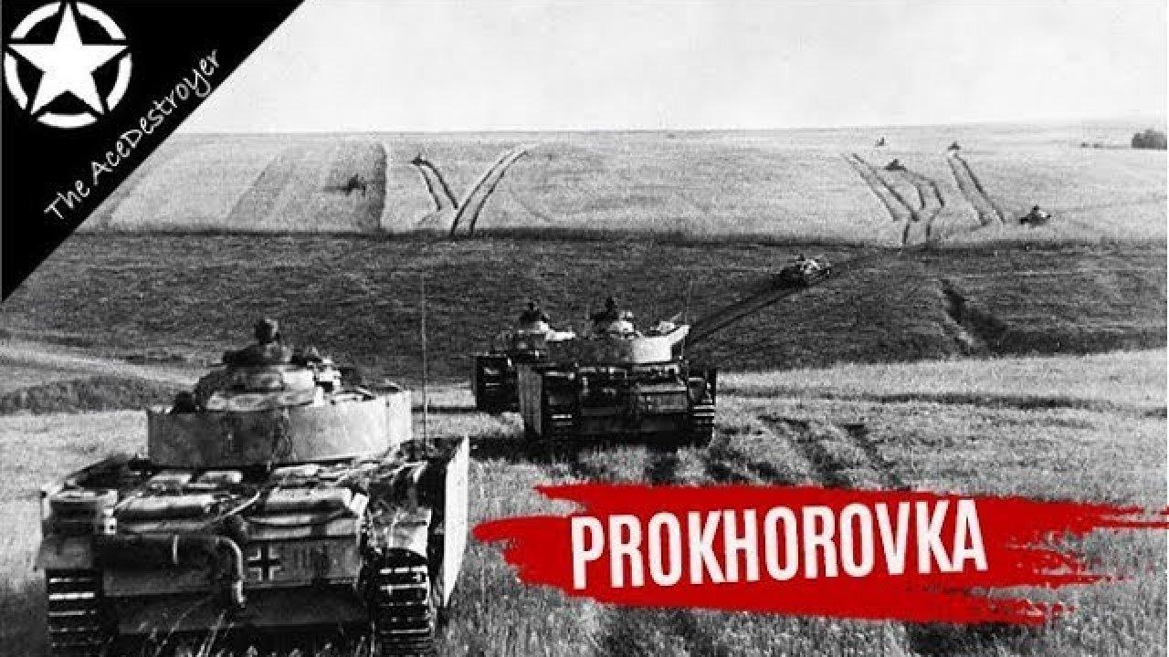 Prokhorovka lahing, Kursk 1943