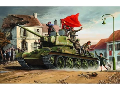 T-34 - tank mis domineeris idarindel
