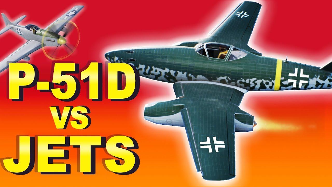 Messerschmitt  Me-262 VS P-51D Mustang