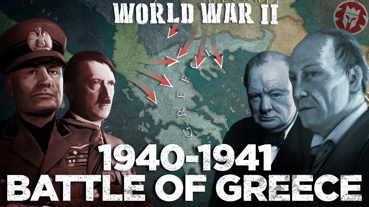 Sõjategevus Kreekas ja Kreetal 1941