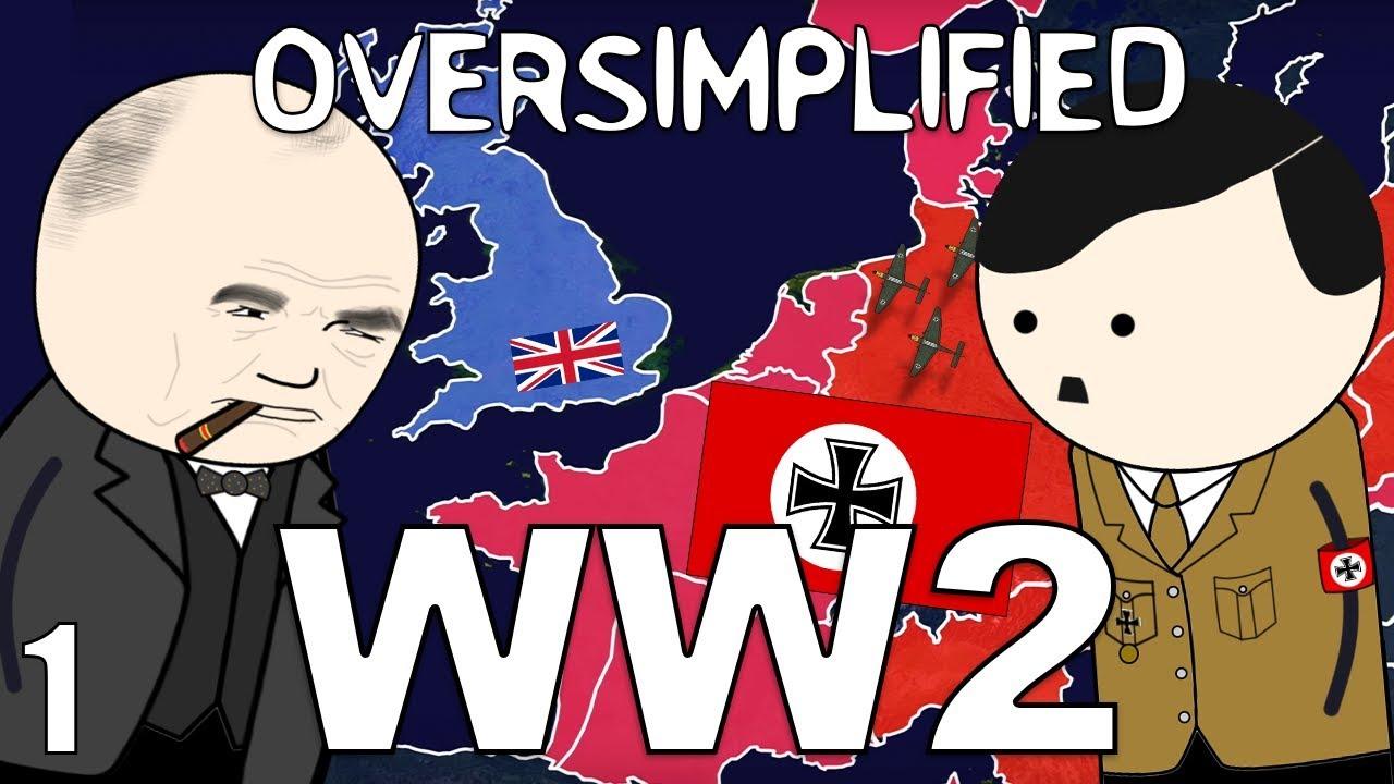 Teine Maailmasõda väga lihtsalt seletatult, 1. osa