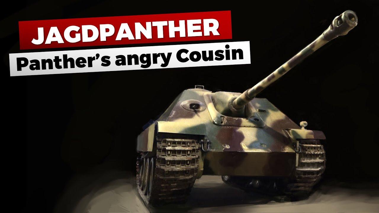 Jagdpanther - suurtükk King Tigerilt ja šassii Pantherilt
