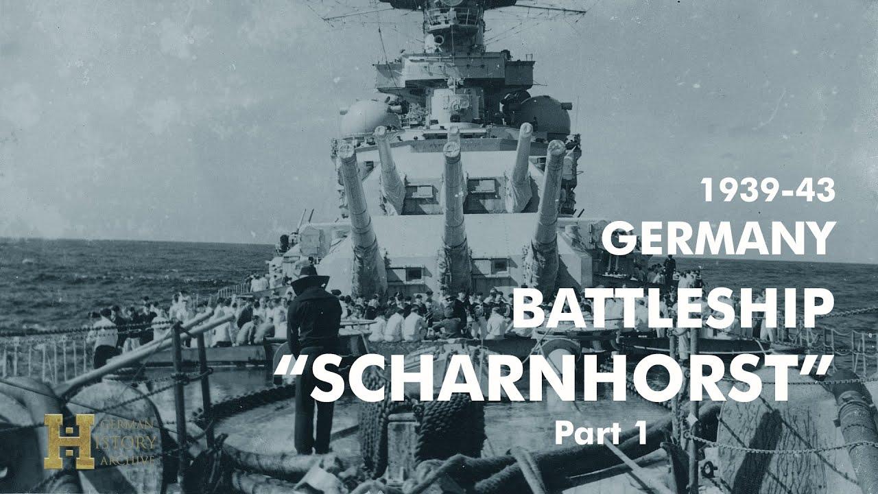 Lahingulaev Scharnhorst 1939 - 1943