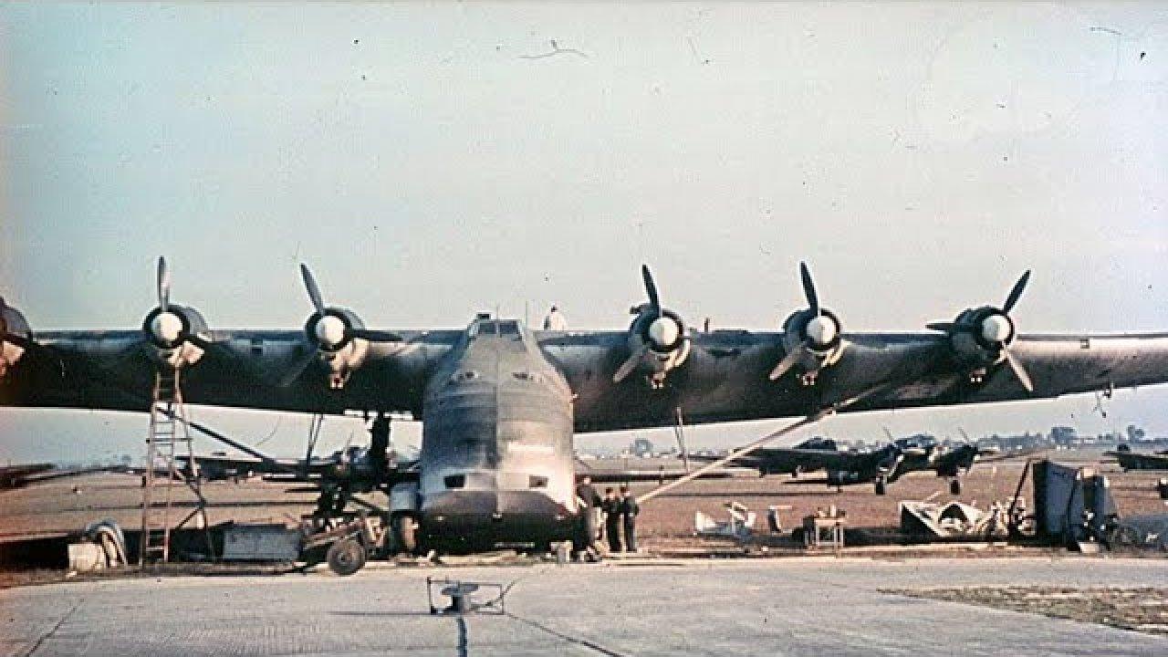 Mis lennuk oli Messerschmitt Me 323 Gigant?