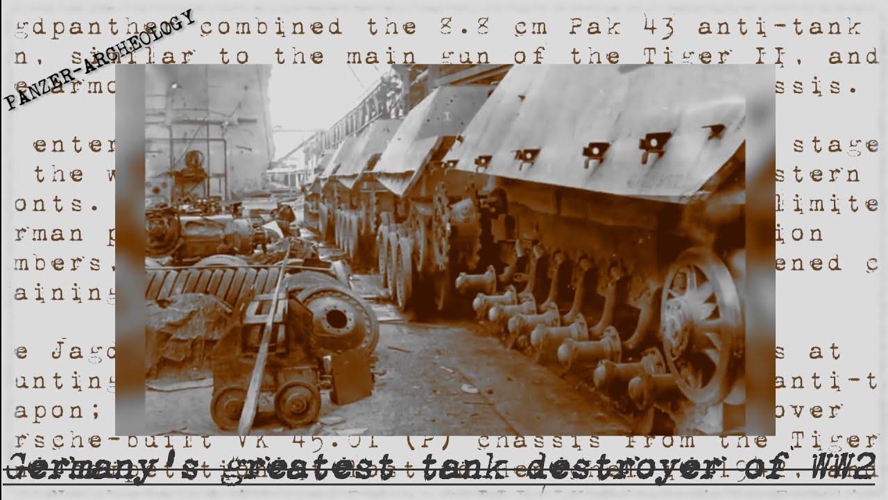 Saksa armee parim tankhävitaja Teises maailmasõjas - Jagdpanther