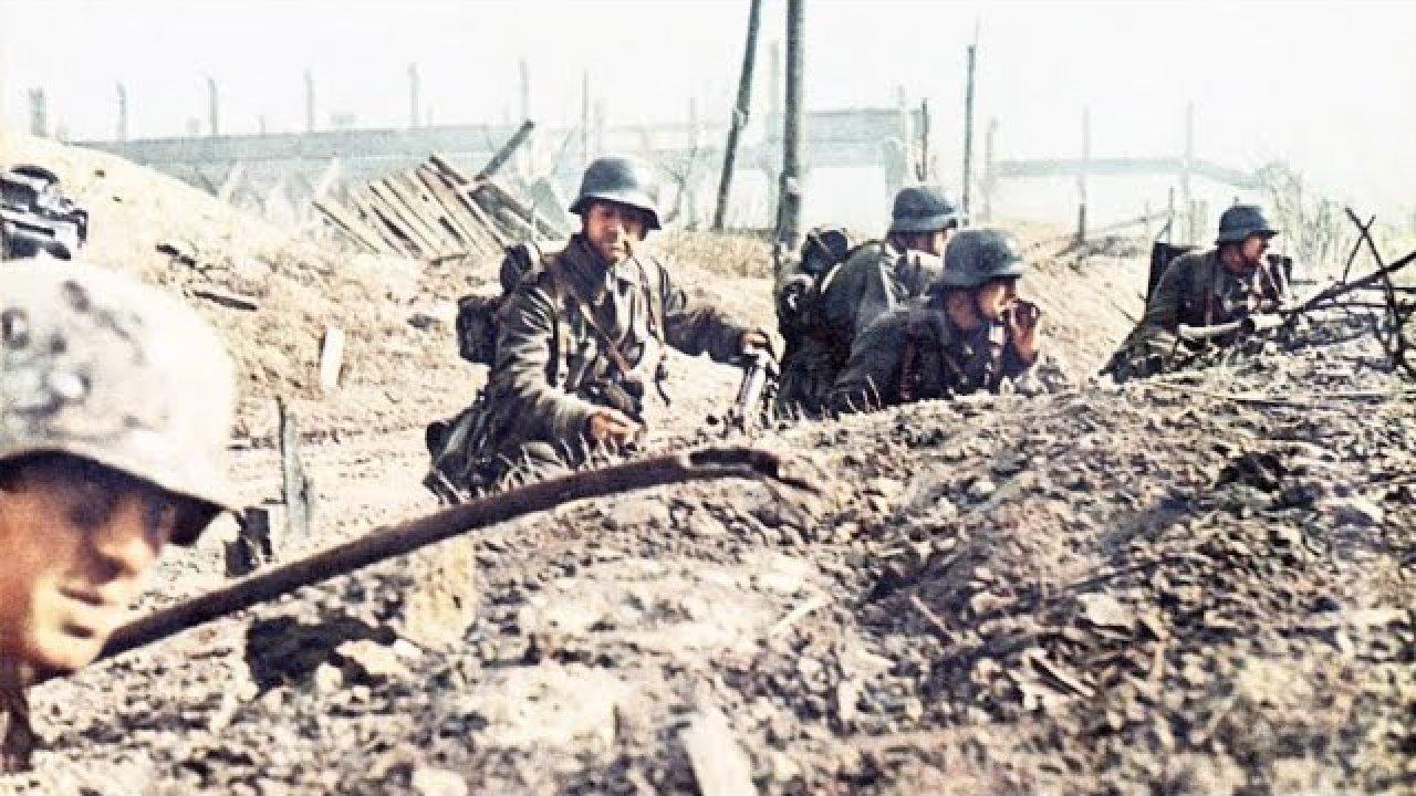 Sakslaste vastupanu Stalingradis pärast armee alistumist