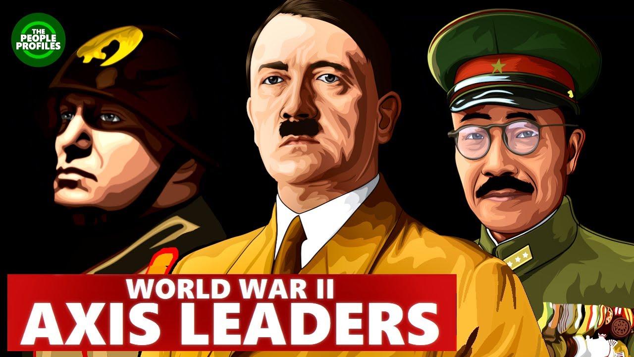 Teljeriikide liidrid Teises maailmasõjas - Tojo, Mussolini ja Hitler
