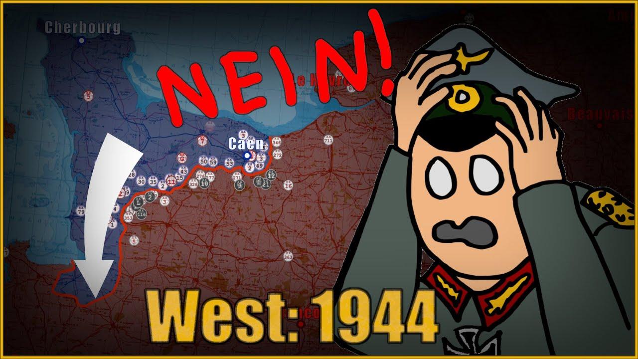 Teise Maailmasõja läänerinne 1944/45, 1. osa