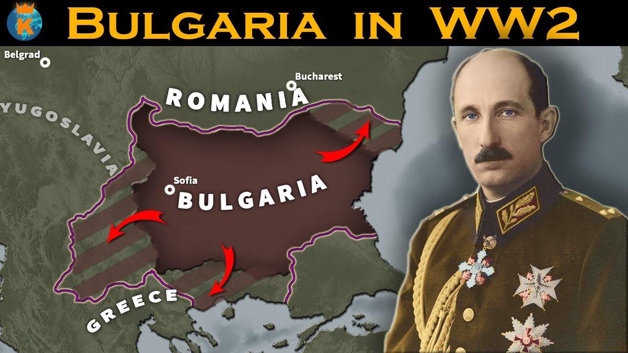 Mis roll oli Bulgaarial Teises Maailmasõjas?