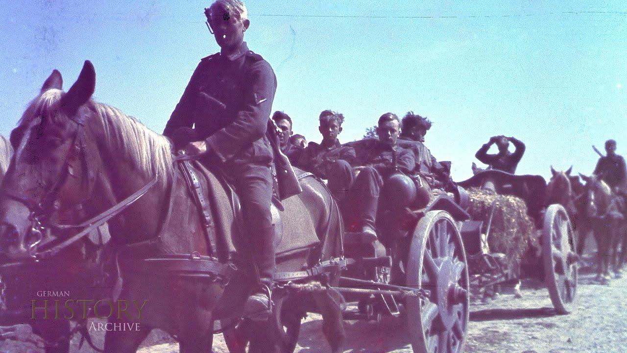Saksa Wehrmacht värvipiltidel - kampaania Nõukogude Liidu vastu 1941, 2. osa